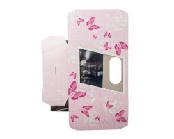 Коробка для орхидей с пробиркой Butterfly розовый