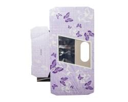 Коробка для орхидей с пробиркой Butterfly фиолетовый