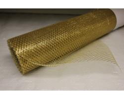 Сетка 70см*10ярд золото арт.071