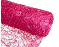 Упак.материал абака 48см*9м shocking pink